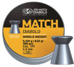 JSB Yellow Match Diabolo Middle Weight .177 (4.5mm)