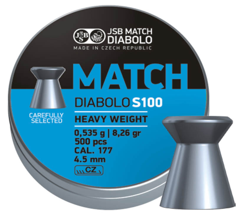 JSB Blue Match Diabolo S100 .177 (4.51mm)