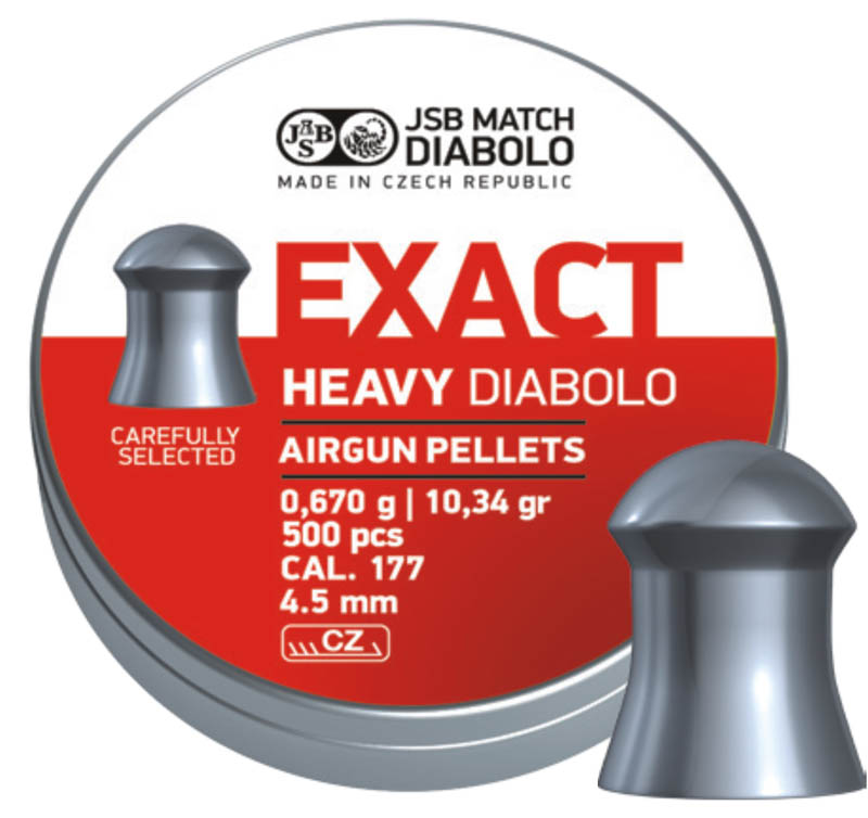 JSB Diabolo Exact Heavy .177 (4.52mm)