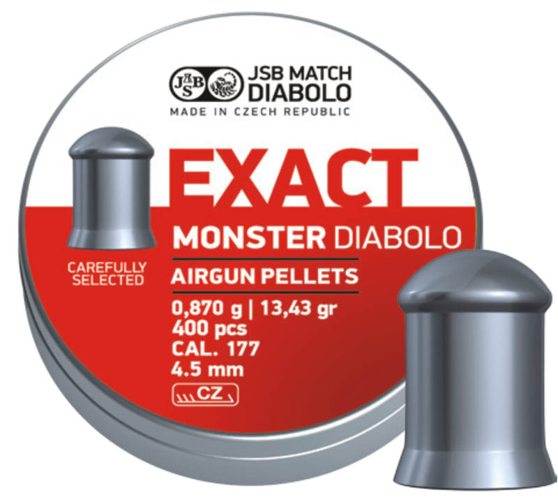 JSB Diabolo Exact Monster .177 (4.52mm)