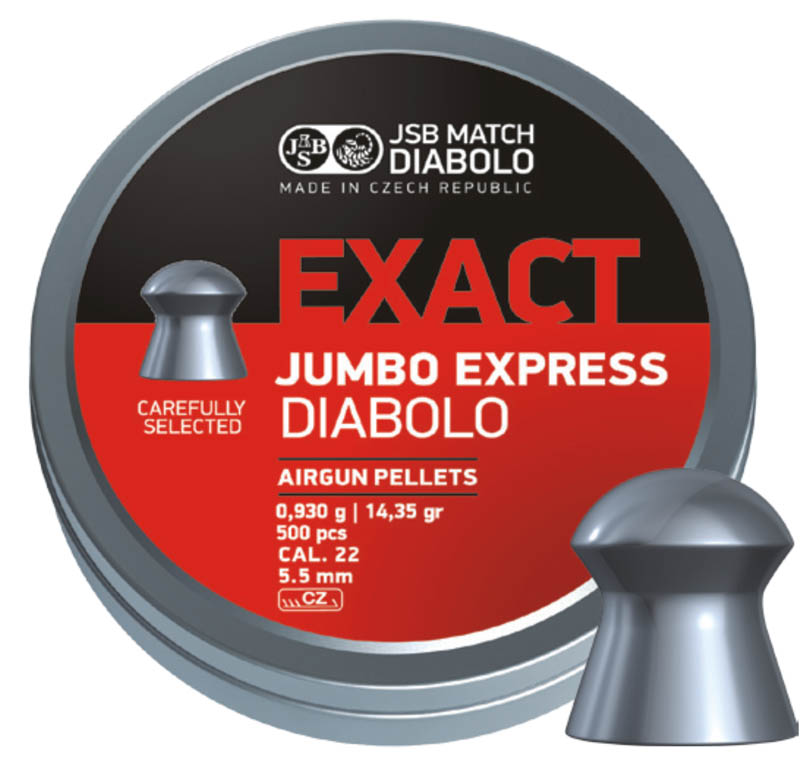JSB Exact Jumbo Express .22 (5.52mm)