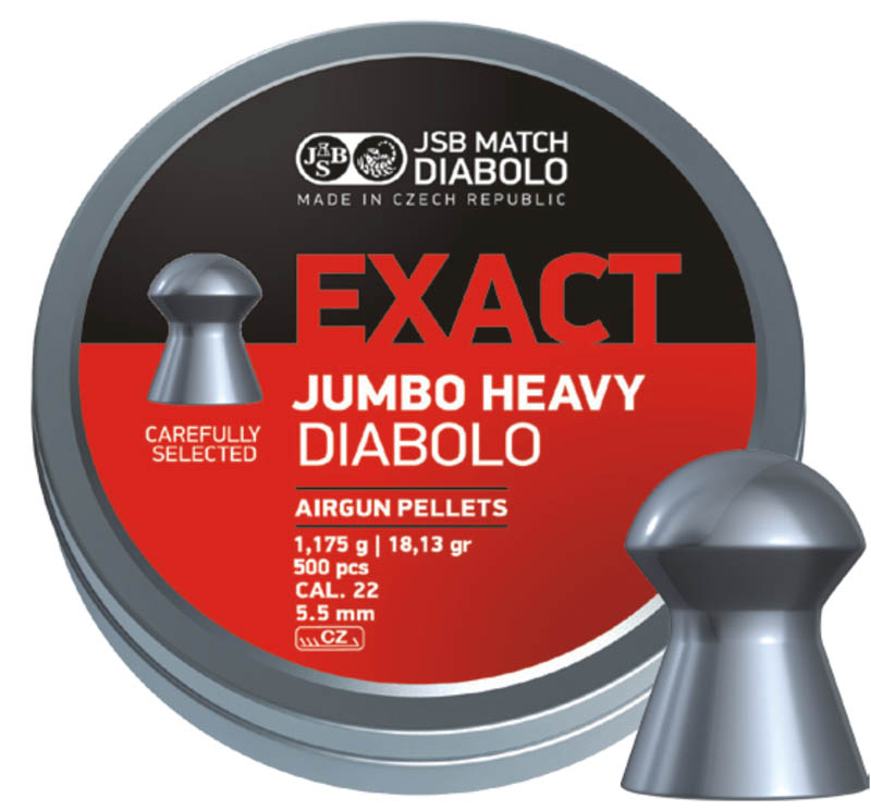 JSB Exact Jumbo Heavy .22 (5.52mm)