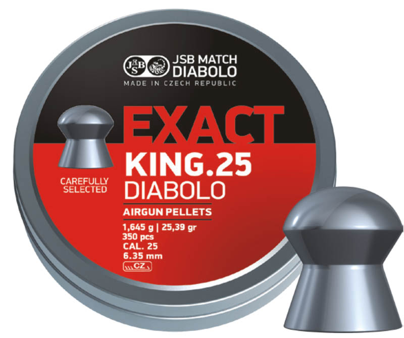 JSB Diabolo Exact King .25 (6.35mm)