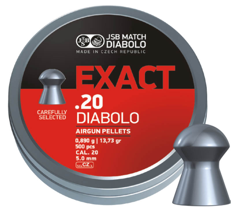 JSB Diabolo Exact .20 (5.11mm)