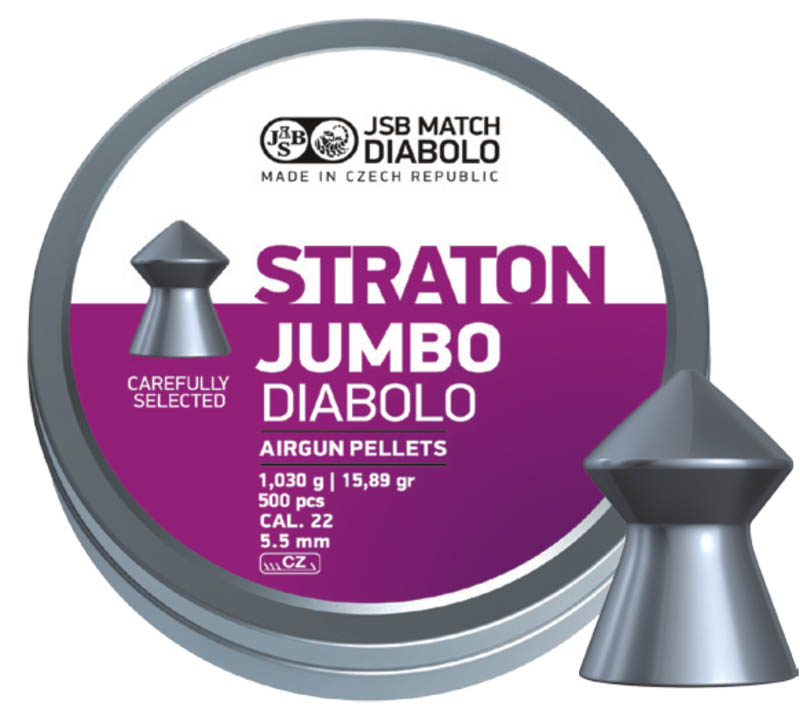 JSB Diabolo Straton Jumbo .22 (5.5mm)