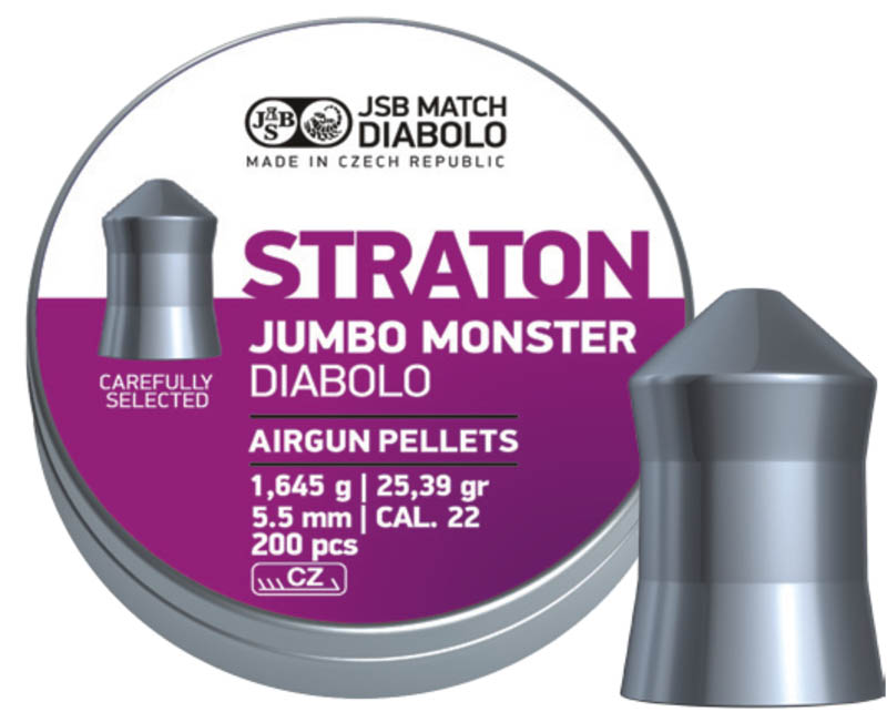 JSB Diabolo Straton Jumbo Monster .22 (5.5mm)