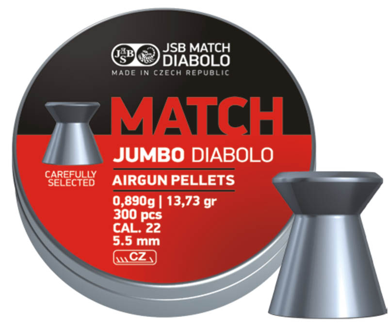 JSB Diabolo Jumbo Match .22 (5.5mm)