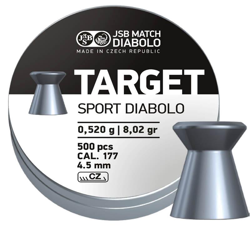 JSB Diabolo Target Sport .177 (4.5mm)