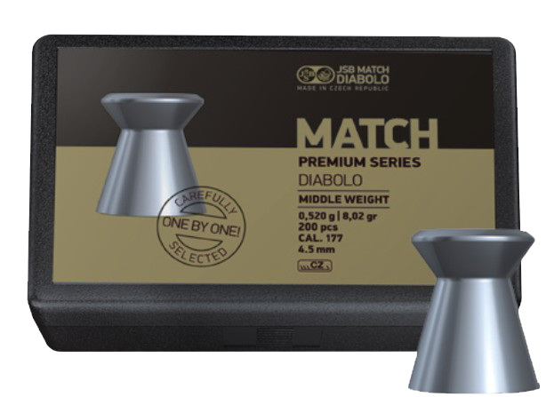 JSB Match Premium Series Middle .177 (4.48mm)