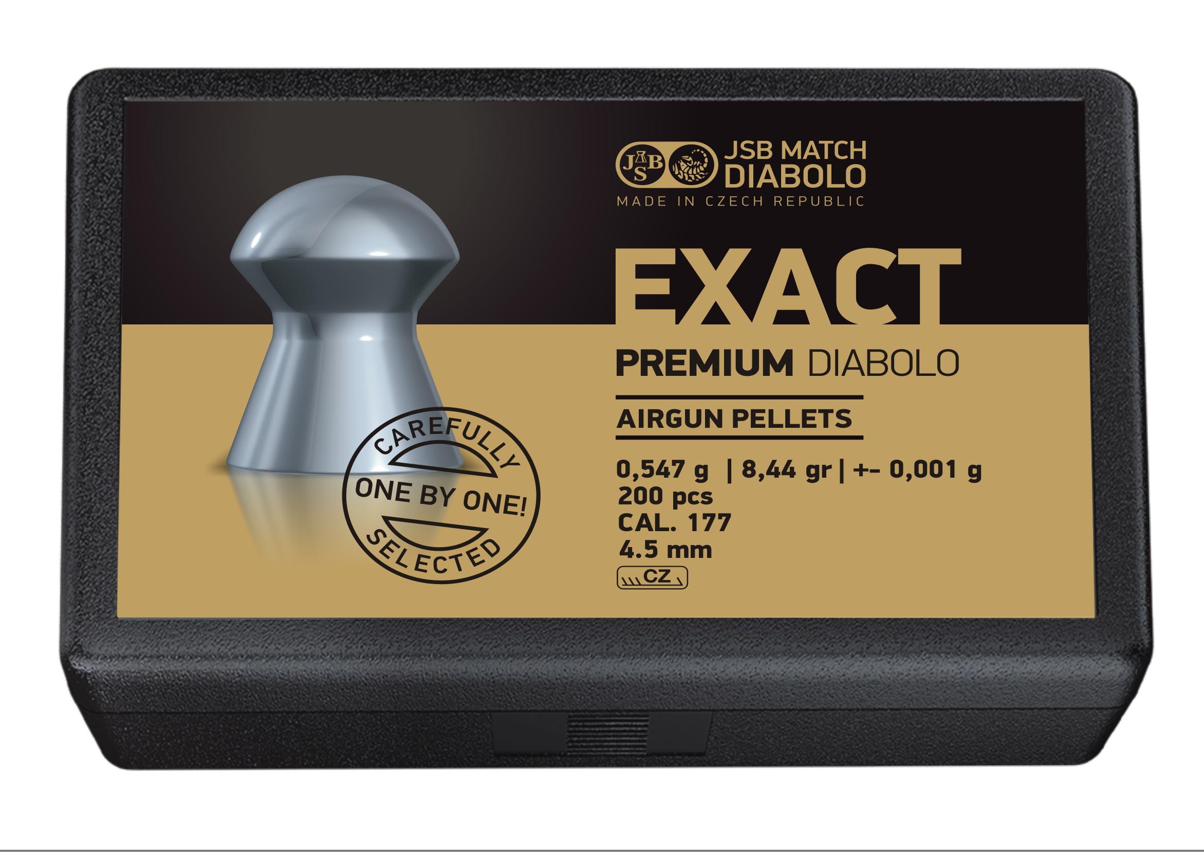 JSB Exact Premium Diabolo .177 (4.52mm)