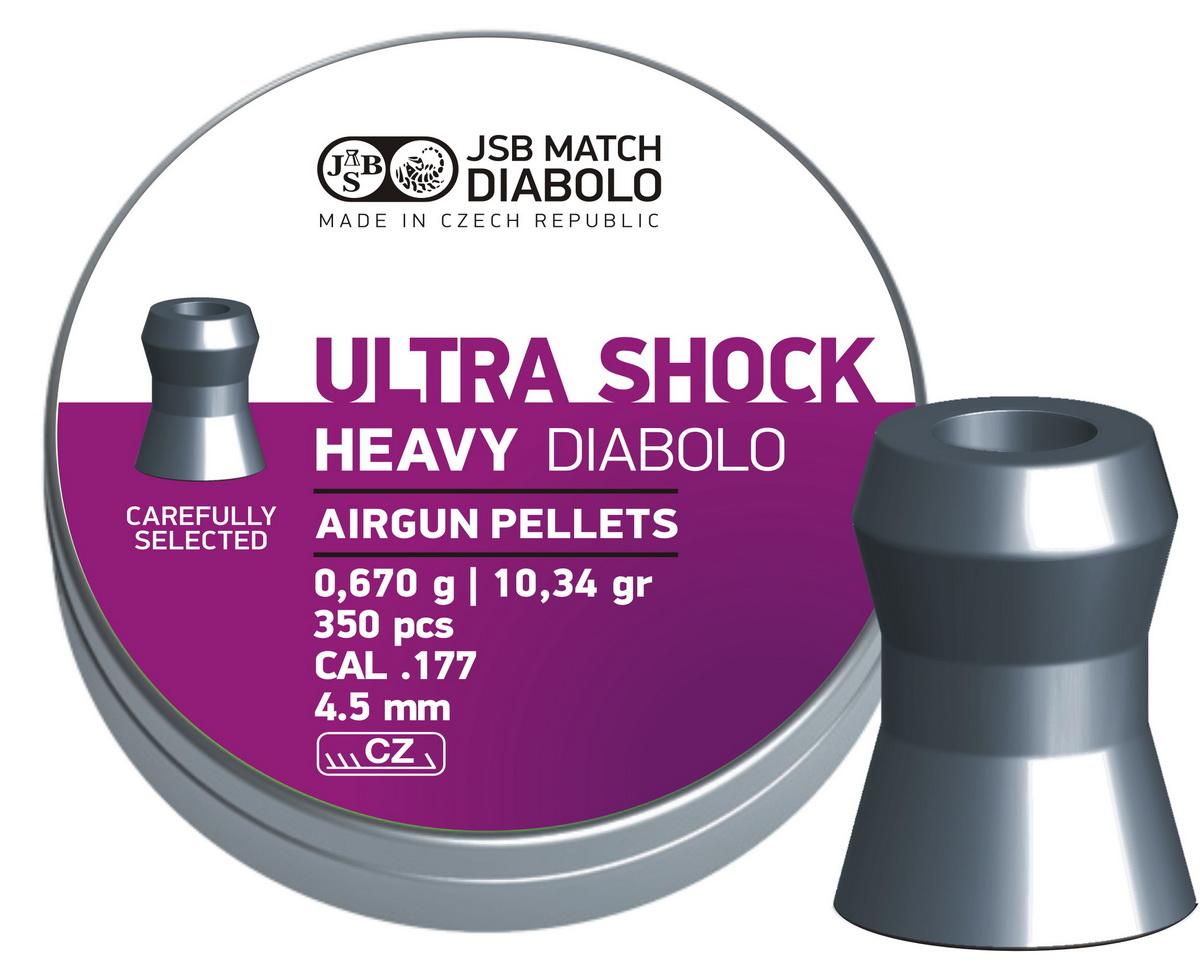 JSB Diabolo Heavy Ultra Shock .177 (4.5mm)