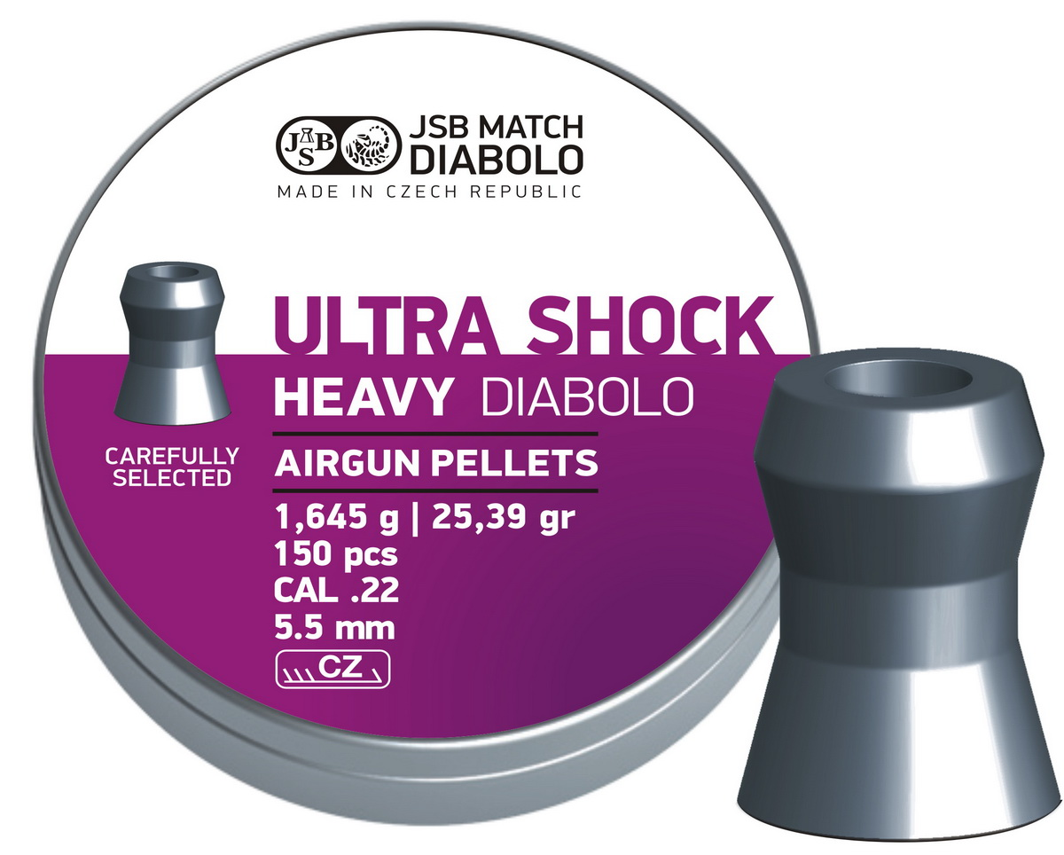 JSB Diabolo Heavy Ultra Shock .22 (5.5mm)