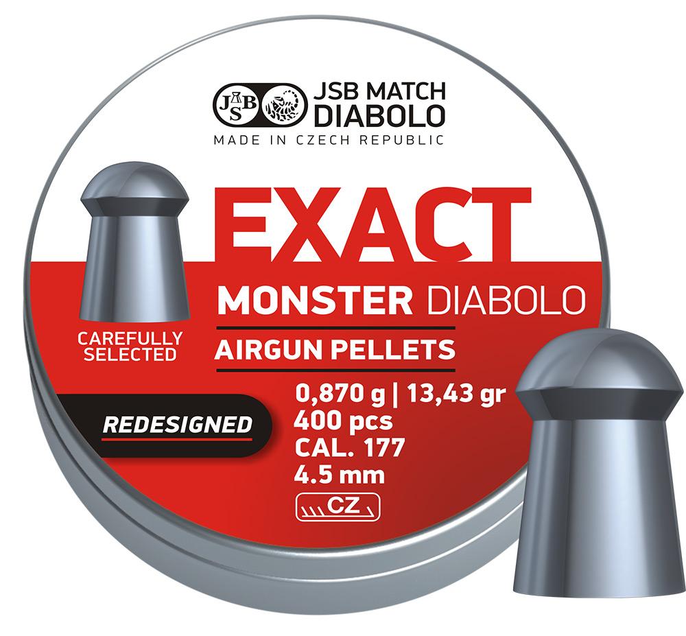 JSB Diabolo Exact Monster Redesigned .177 (4.52mm)