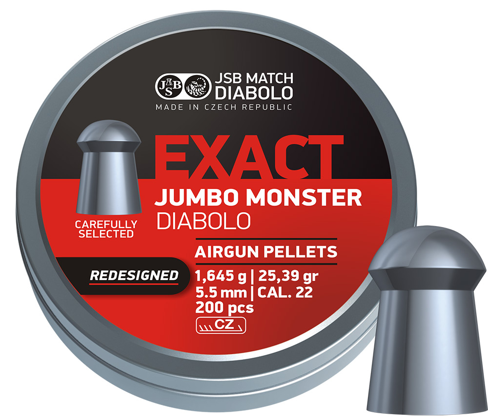 JSB Exact Jumbo Monster Redesigned .22 (5.52mm)