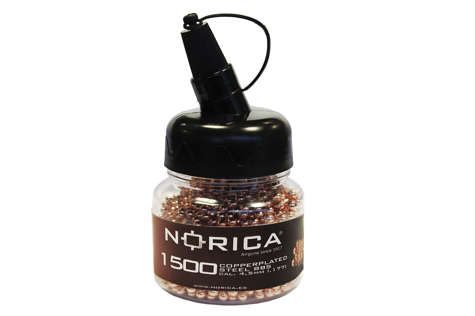 Norica Copper Plated Steel BBs .177 (4.5mm)