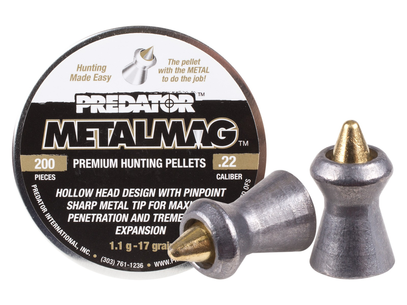 Predator International Metalmag .22 (5.5mm)