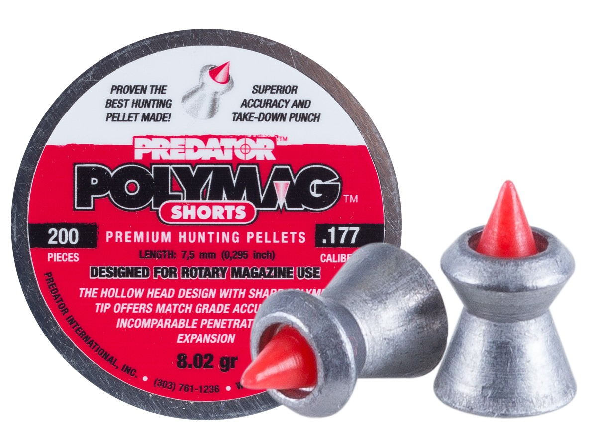 Predator International Polymag Shorts .22 (5.5mm)