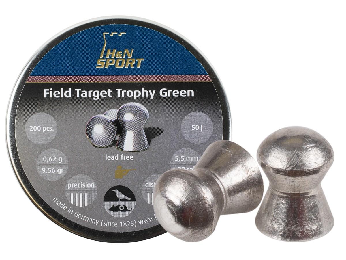 H&N Field Target Trophy Green .22 (5.5mm)
