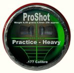 Proshot Practice Heavy .177 (4.5mm)