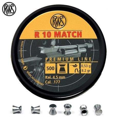 RWS R-10 Match Heavy .177 (4.5mm)