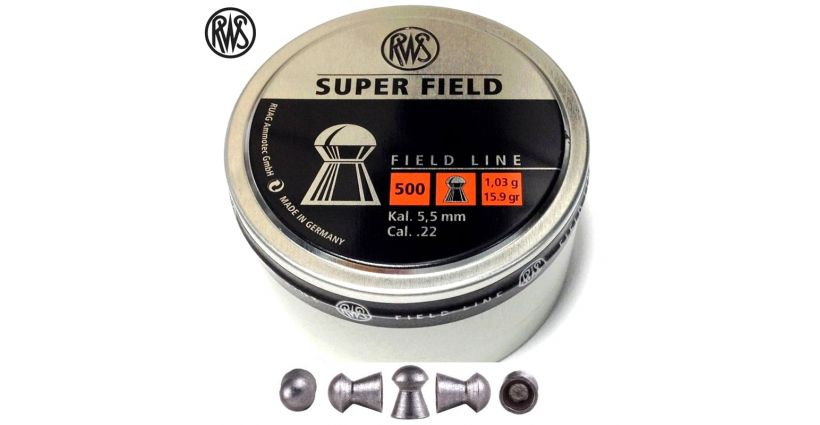 RWS Superfield .22 (5.51mm)