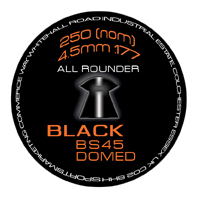 SMK BS45 Black (Domed) .177 (4.5mm)