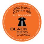 SMK BS55 Black (Domed) .22 (5.5mm)