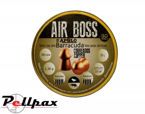 Apolo  Air Boss Barracuda Copper .22 (5.5mm)