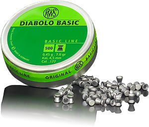 RWS Diabolo Basic .177 (4.5mm)