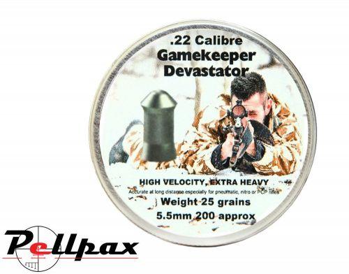 Gamekeeper  Devastator Extra Heavy .22 (5.5mm)
