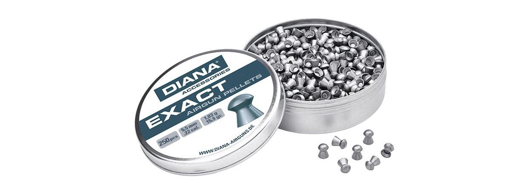 Diana Diablo Pellets Exact Jumbo .22 (5.5mm)