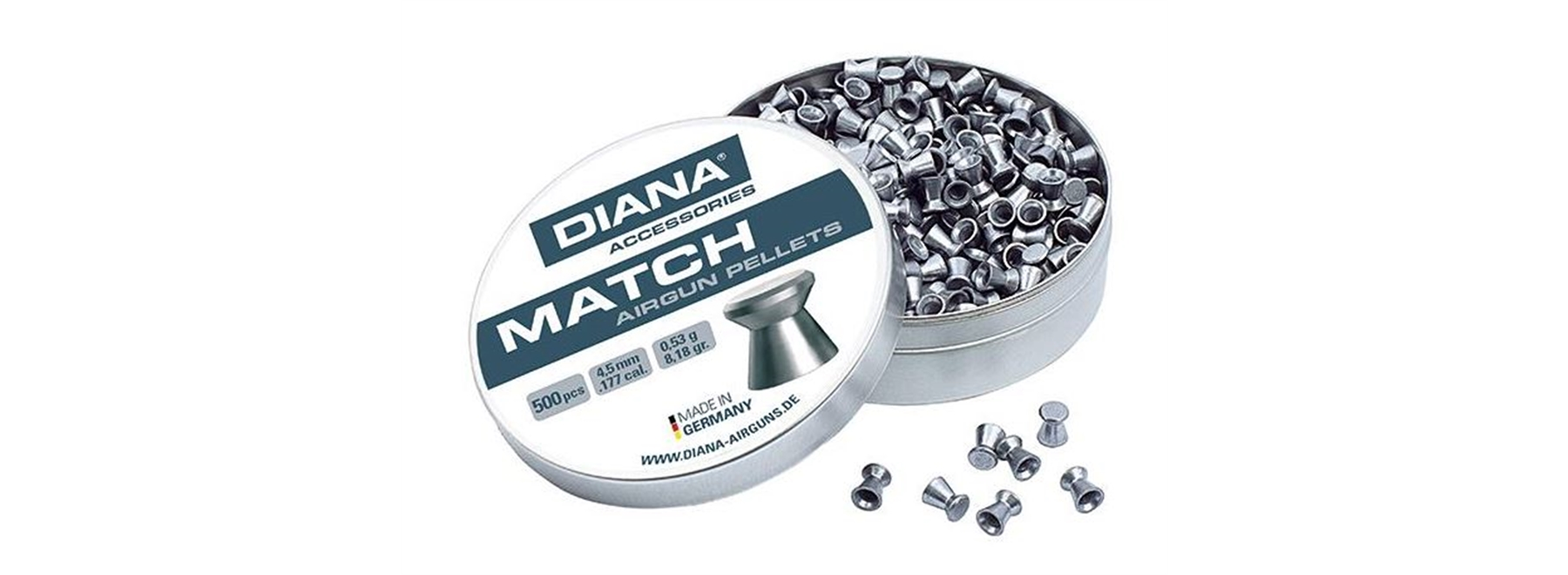 Diana Diablo Pellets Match .177 (4.5mm)