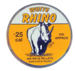 Milbro White Rhino .25 (6.35mm)