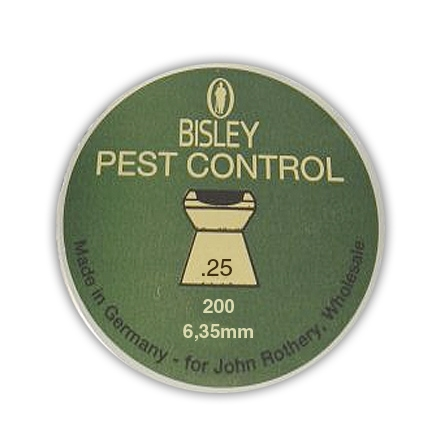Bisley Pest Control .25 (6.35mm)