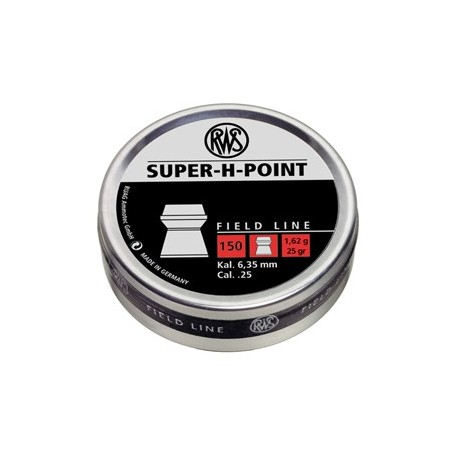 RWS Super H Point .25 (6.35mm)