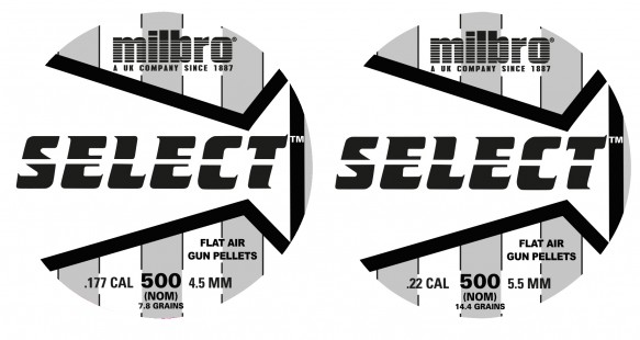 Milbro Select .177 (4.5mm)