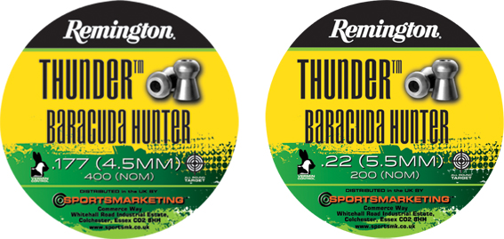 Remington  Baracuda Hunter .177 (4.5mm)