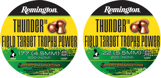 Remington  Field Target Trophy Power .177 (4.5mm)