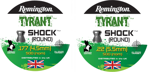 Remington  Tyrant Shock .22 (5.5mm)