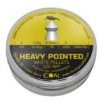 COAL Heavy Pointed 125 WP .25 (6.35mm)