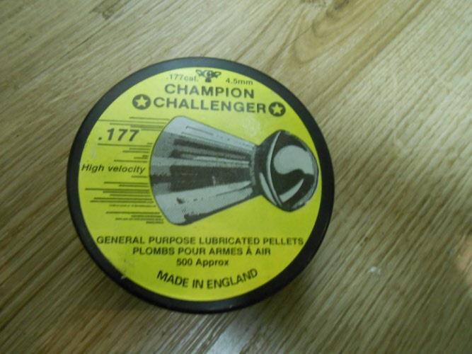 Unknown Champion Challenger Vintage .177 (4.5mm)