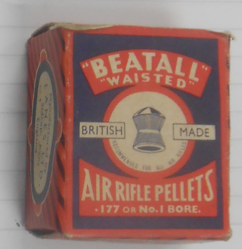 Unknown Beatall pellet box Vintage .177 (4.5mm)