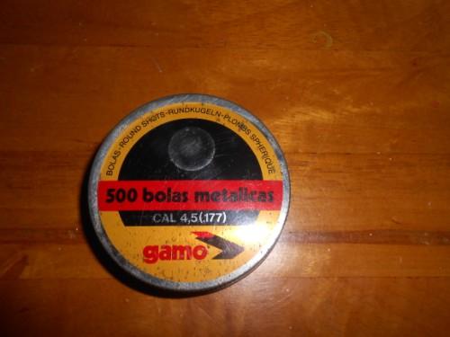 Gamo Bolas metalicas Vintage .177 (4.5mm)