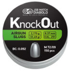 JSB Knockout Slugs .25 (6.37mm)